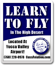 Learn To Fly - In The High Desert - (760) 220-0978